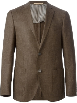 Two Button Blazer by Corneliani in Ricki and the Flash