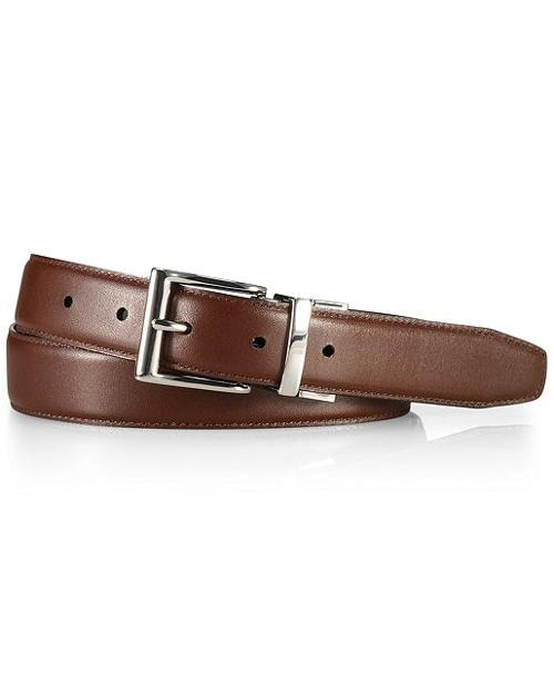 Douglas Leather Belt by Polo Ralph Lauren Accessories in Pain & Gain