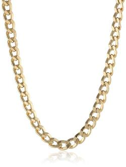 Men's Curb Chain Necklace by Amazon Curated Collection in The Wolverine