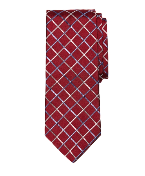 Double Windowpane Tie by Brooks Brothers in American Horror Story - Season 5 Episode 8