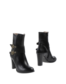 Zip Closure Ankle Boots by Aandrea Bernes in She's Funny That Way