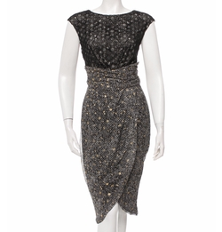 Eyelet-Embellished Midi Dress by Giambattista Valli in Suits