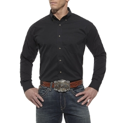 Solid Perf Poplin Shirt by Ariat in The Longest Ride