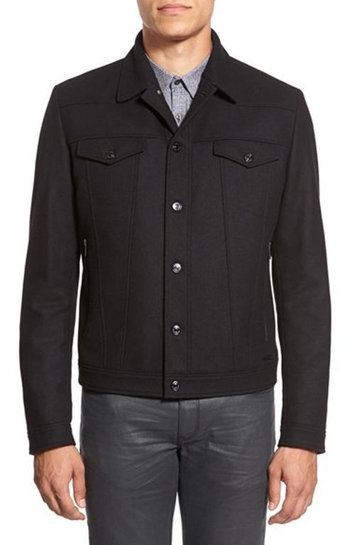 'Brikon' Button Front Jacket by Hugo in Scandal - Season 5 Episode 8
