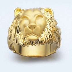 Man Lion Ring by Lior in The Big Lebowski