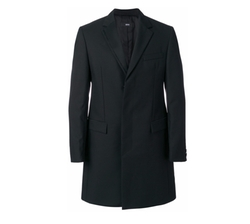 Classic Single-Breasted Coat by Boss Hugo Boss in Molly's Game