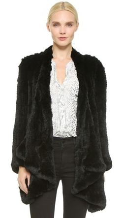 Ashleigh Fur Coat by H Brand in Empire