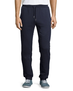 Fleece Drawstring Sweatpants by Lacoste in The Program