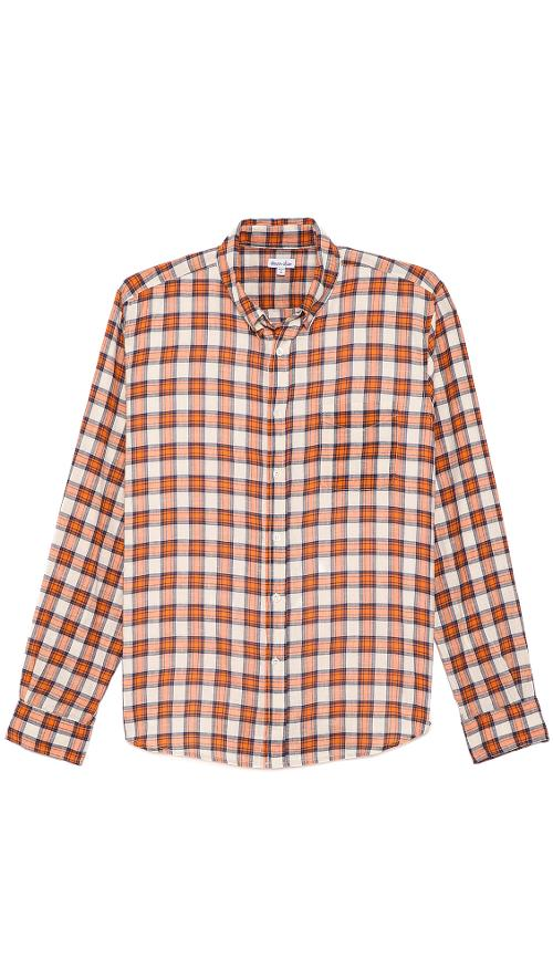Plaid Classic Collegiate Shirt by Steven Alan in Horrible Bosses 2