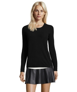 Ribbed Stretch Knit Sweater by Vince in The Flash