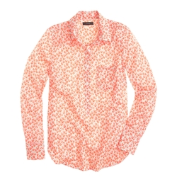 Flowerpatch Print Popover Shirt by J.Crew in Pitch Perfect 2