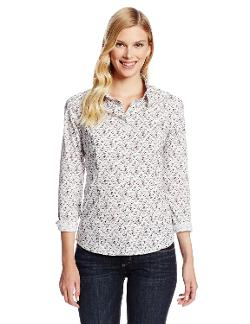 Women's Tailored Stretch Shirt by Dockers in Man of Steel