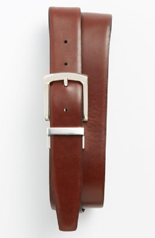 'Croft' Reversible Belt by Will Leather Goods in Blended