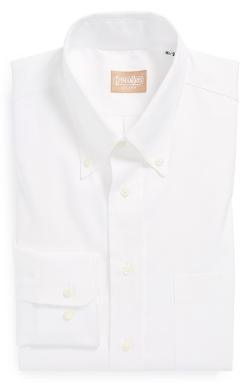 Oxford Button Down Dress Shirt by Gitman in Entourage