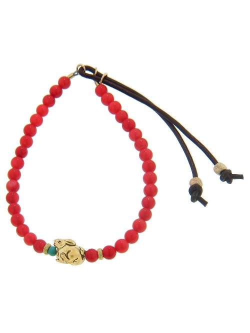 Coral Stardust Bracelet by Catherine Michiels in Begin Again