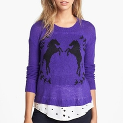 Tissue Knit Sweater by Kensie in The Big Bang Theory
