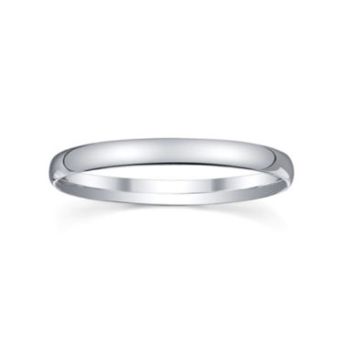 Silver Domed Wedding Band Ring by JC Penney in Silver Linings Playbook