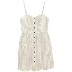 Cope Linen Sundress by Urban Outfitters in Bridesmaids