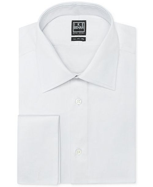 Solid French Cuff Shirt by Ike Behar in A Very Murray Christmas