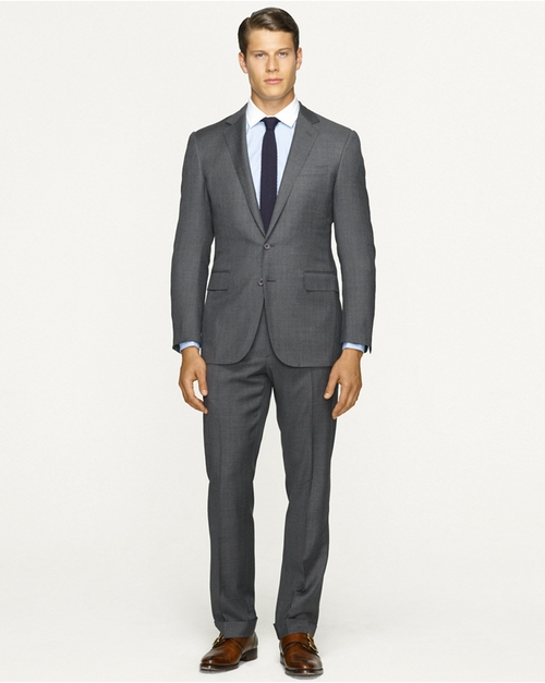 Anthony Sharkskin Suit by Ralph Lauren in Suits - Season 5 Episode 5