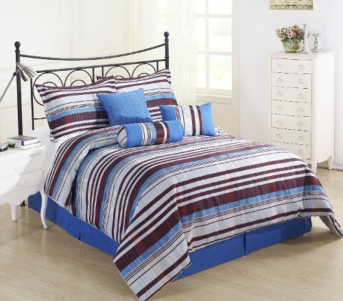 Retro Seven Piece Comforter by Cozy Beddings in Absolutely Anything