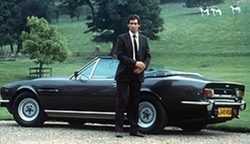 1985 V8 Vantage Series III Convertible Car by Aston Martin in The Living Daylights