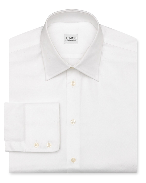 Solid Oxford Dress Shirt by Armani Collezioni in We Are Your Friends