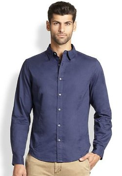 Core Cotton Sportshirt by Madison Supply in Focus