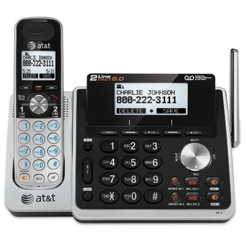 Expandable Cordless Phone with Answering System by AT&T in A Walk in the Woods