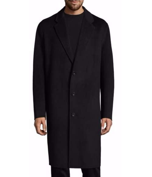 Charles Cashmere & Wool Top Coat by Acne Studios in Collateral Beauty
