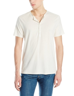 Short-Sleeve Henley Shirt by John Varvatos in Kill Bill: Vol. 2