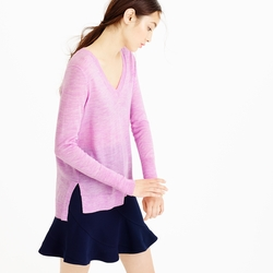 Merino Wool V-Neck Tunic Sweater by J. Crew in Modern Family