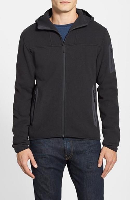 'Covert' Fleece Full Zip Hoodie Jacket by Arc'teryx in John Wick