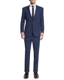 Anthony Basic Trim-Fit Wool Suit by Ralph Lauren in Ballers