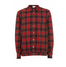 Check Flannel Shirt Jacket by Topman in Daddy's Home 2
