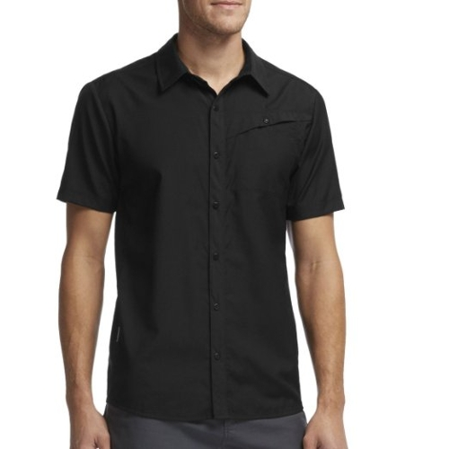 Departure Short Sleeve Shirt by Icebreaker in The D Train