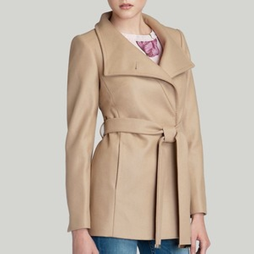 Chessy Wrap Coat by Ted Baker in How To Get Away With Murder - Season 2 Episode 11