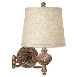 Lighting Brand Maison Swing Arm Wall Lamp by Pacific Coast in Vampire Academy