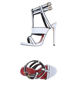 Ankle Strap Sandals by Mangano  in Rosewood