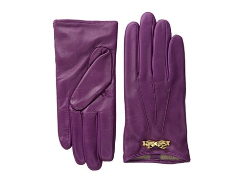 Bowra Metal Bow Leather Gloves by Ted Baker in Confessions of a Shopaholic