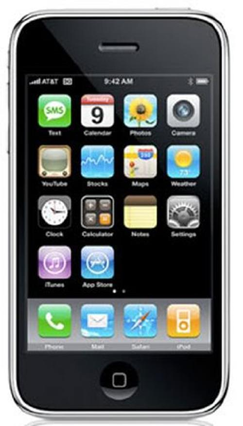 iPhone 3GS by Apple in No Strings Attached