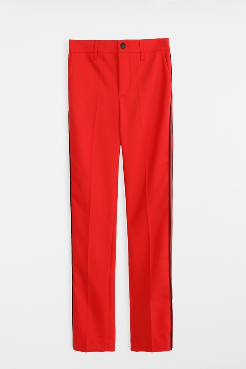 Pour Femme Pomelo Pants by Zadig & Voltaire in Keeping Up With The Kardashians - Season 12 Episode 6