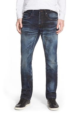 'Demon - Noir Armus' Straight Leg Jeans by PRPS in Ballers