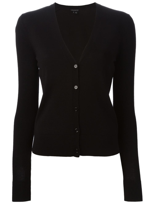 V-Neck Cardigan by Theory in Our Brand Is Crisis