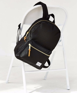 Settlement Backpack in Black by Herschel Supply Co. in Paper Towns