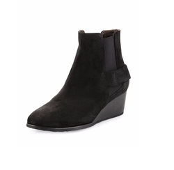 Oddly Suede Wedge Bootie by Coclico in Pretty Little Liars