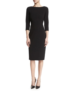 Varetta Admiral Crepe Sheath Dress by Theory in Keeping Up With The Kardashians