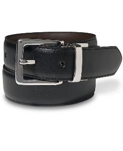 Leather Reversible Dress Belt by Lauren by Ralph Lauren in Savages