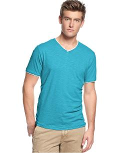 Short-Sleeve V-Neck T-Shirt by BAR III in This Is Where I Leave You