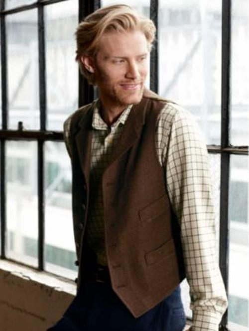 Thomas Waistcoat Vest by Pendleton Woolen Hills in Kingsman: The Secret Service